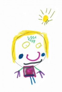 A colourful drawing by one of our creative Koala children